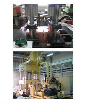 Production of Joule heating forming system